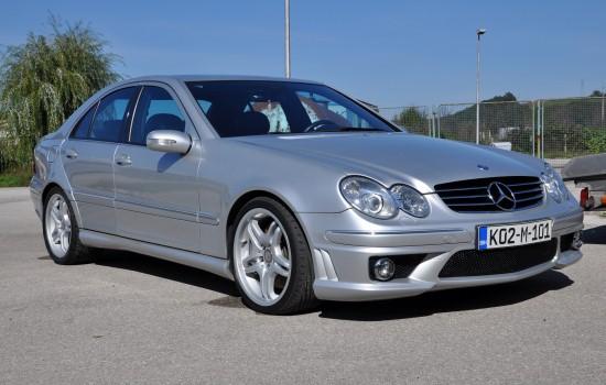 Mercedes-Benz C 55 AMG Benzin-2006 god>>>DETALNJE INFORMACIJE